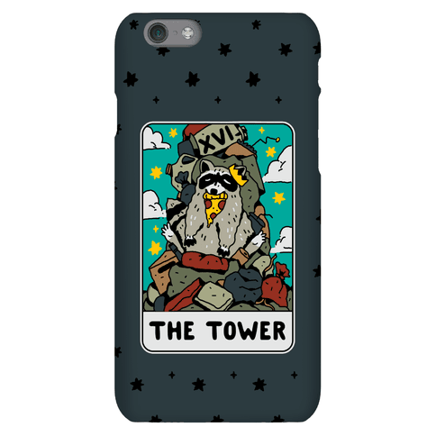 The Garbage Tower Tarot Phone Case