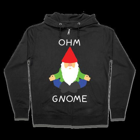 Ohm Gnome Zip Hoodie