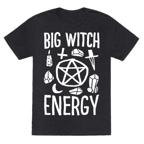 Big Witch Energy Mens T-Shirt