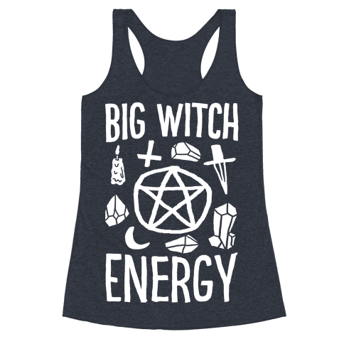 Big Witch Energy Racerback Tank Top