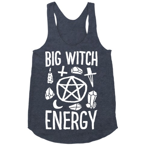 Big Witch Energy Racerback Tank Top