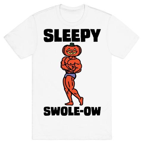 Sleep Swole-ow Parody T-Shirt