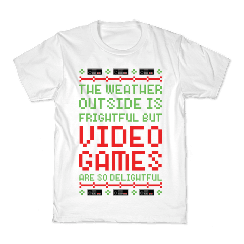 Video Games Are So Delightful Kids T-Shirt