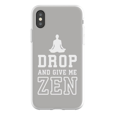 new product bcc1b 404ad Drop And Give Me Zen Phone Flexi-Cases | LookHUMAN