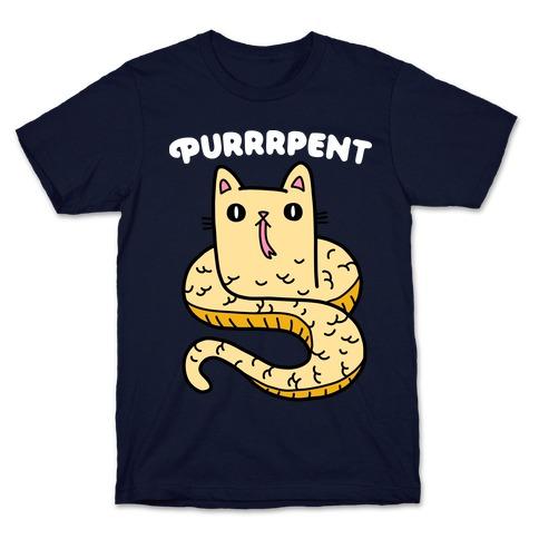 Purrrpent Serpent Cat T-Shirt