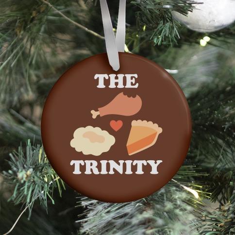 Thanksgiving Trinity Ornament