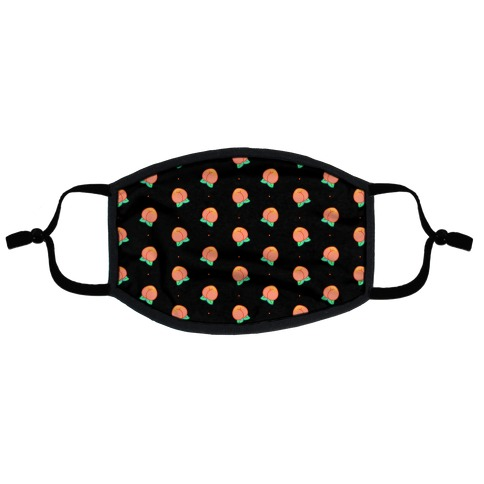 Butt Peaches Flat Face Mask