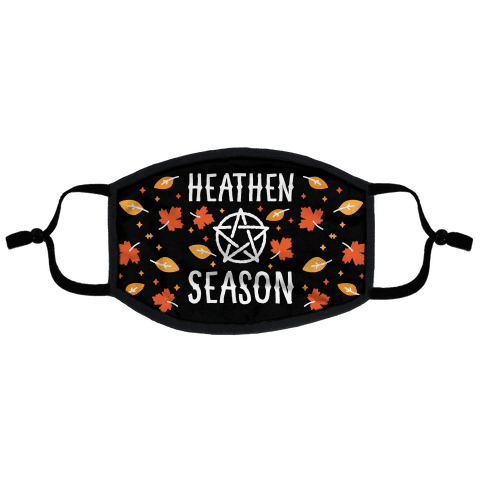 Heathen Season Flat Face Mask