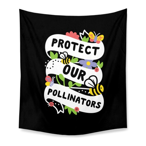 Protect Our Pollinators Tapestry