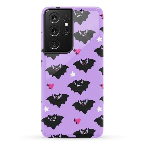 Pastel Goth Bats Pattern Phone Case