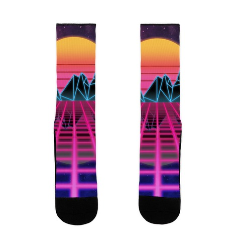 Synthwave Sock