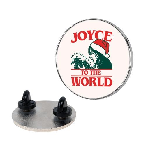 Joyce To The World Parody Pin