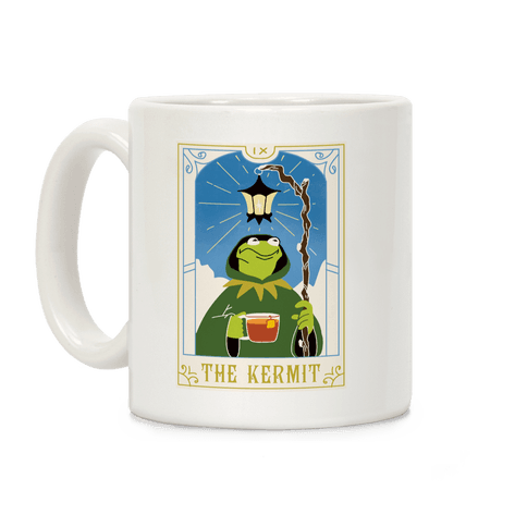 The Kermit Tarot Card Coffee Mug