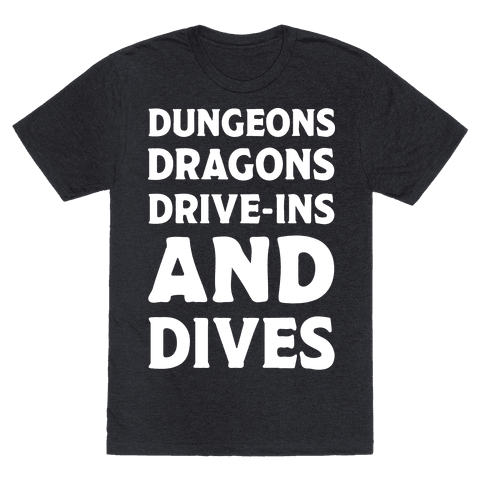 Dungeons Dragons Drive-ins And Dives