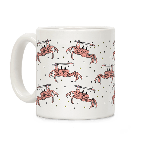 Crabo Stabo Pattern Coffee Mug