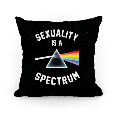 Sexuality is a Spectrum Pillow