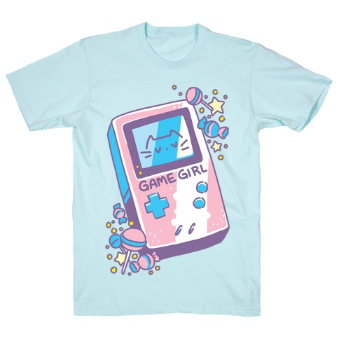 Game Girl - Trans Pride T-Shirt