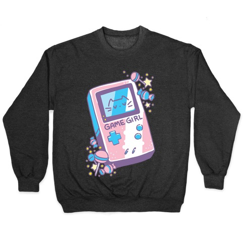 Game Girl - Trans Pride Pullover