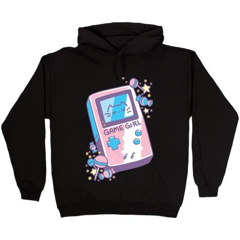 Game Girl - Trans Pride Hooded Sweatshirt