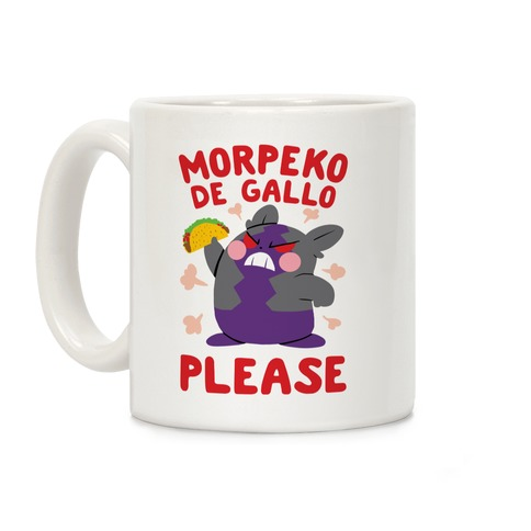 Morpeko De Gallo Please Coffee Mug