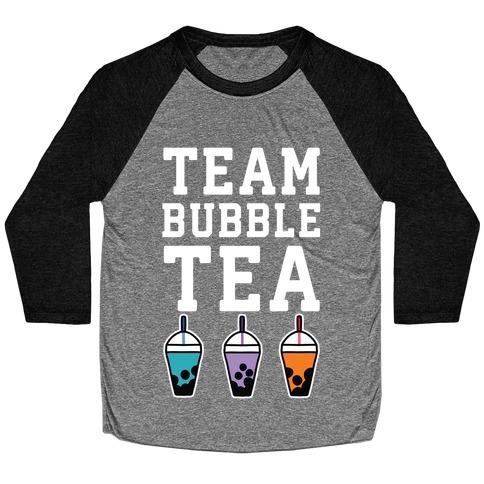 Team Bubble Tea Baseball Tee