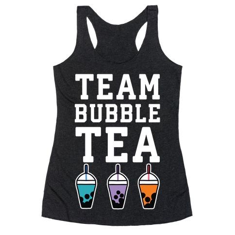 Team Bubble Tea Racerback Tank Top