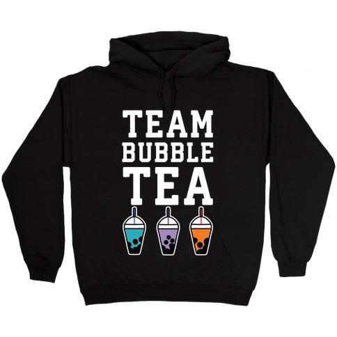 Team Bubble Tea Hooded Sweatshirt