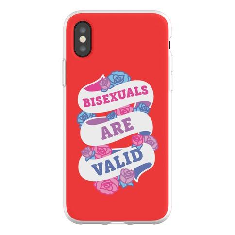 Bisexuals Are Valid Phone Flexi-Case