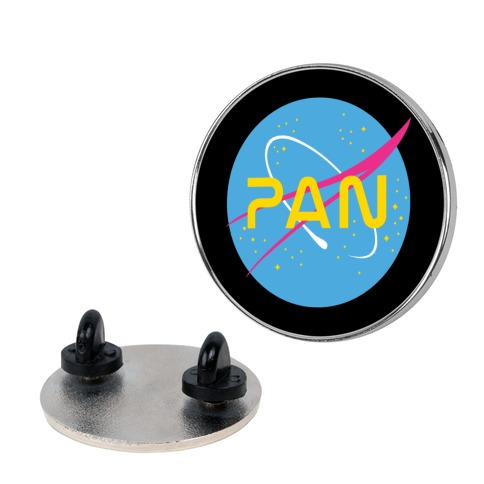 Pan Nasa pin