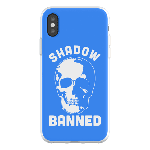 Shadow Banned Phone Flexi-Case