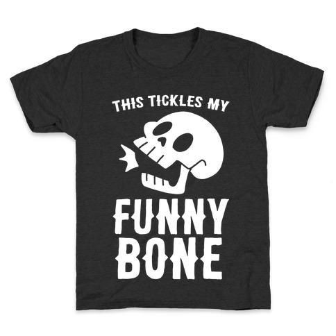 This Tickles My Funny Bone Kids T-Shirt