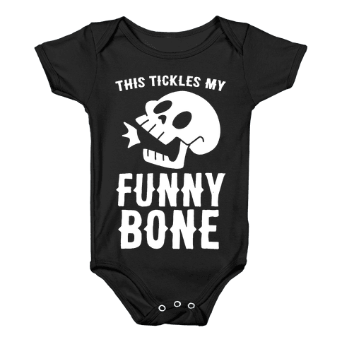 This Tickles My Funny Bone Baby Onesy