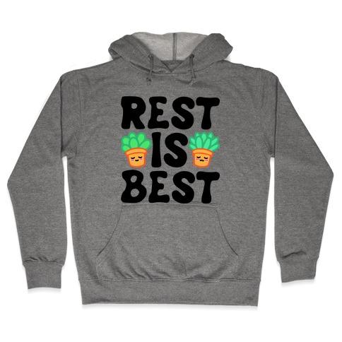 Rest Is Best Hooded Sweatshirt