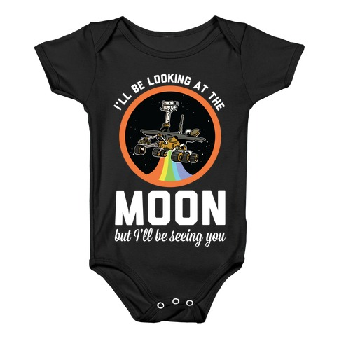 I'll Be Looking At The Moon But I'll Be Seeing You Oppy Baby Onesy