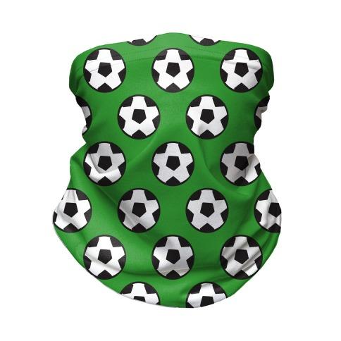 Soccer Pattern Neck Gaiter