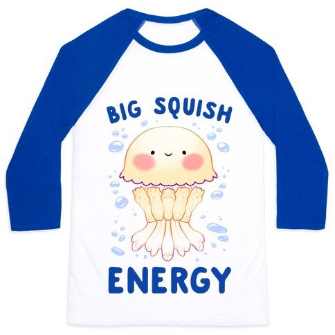Big Squish Energy Baseball Tee