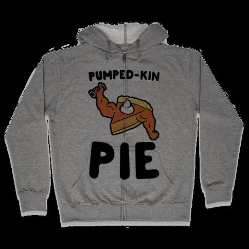 Pumped-kin Pie Zip Hoodie