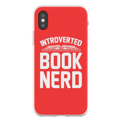 Introverted Book Nerd Phone Flexi-Case