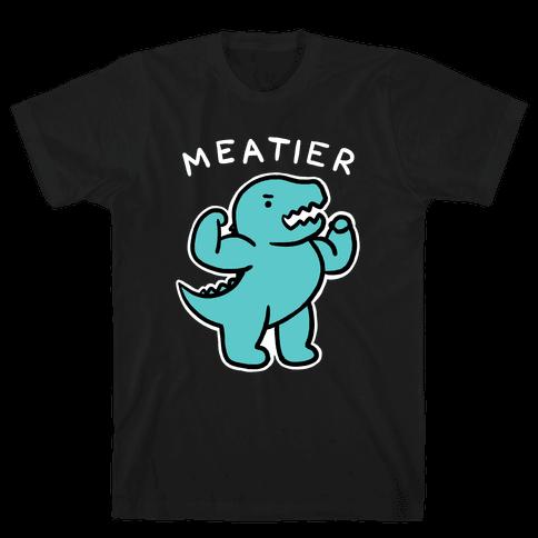 Meatier Dino Mens/Unisex T-Shirt