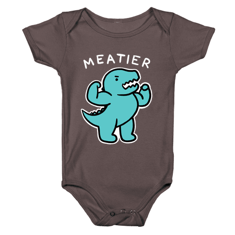 Meatier Dino Baby One-Piece