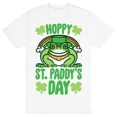 Hoppy St. Paddy's Day Frog T-Shirt