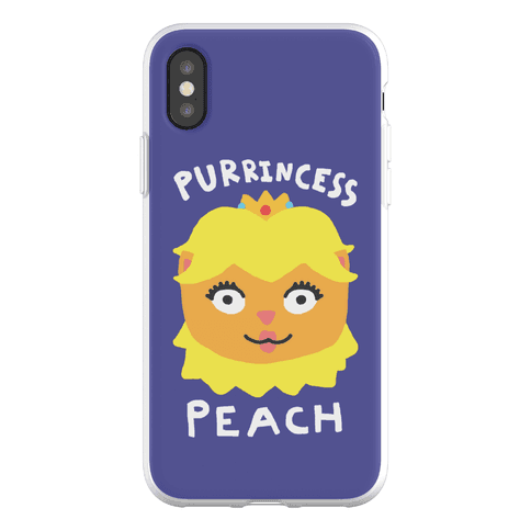 Purrincess Peach Phone Flexi-Case