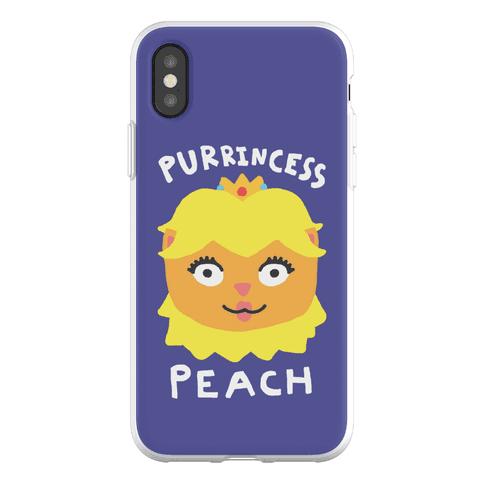 Purrincess Peach Phone Flexi-Case
