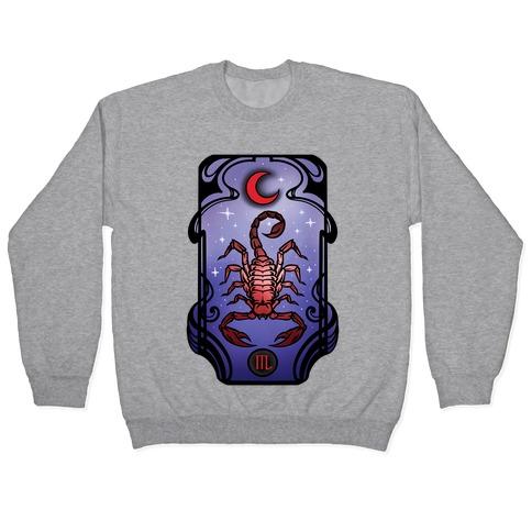 Scorpio Art Nouveau Pullover