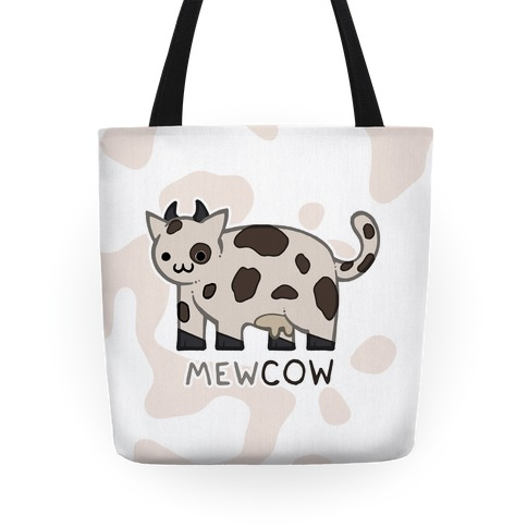 Mew Cow Tote