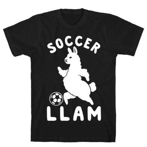 Soccer Llam T-Shirt