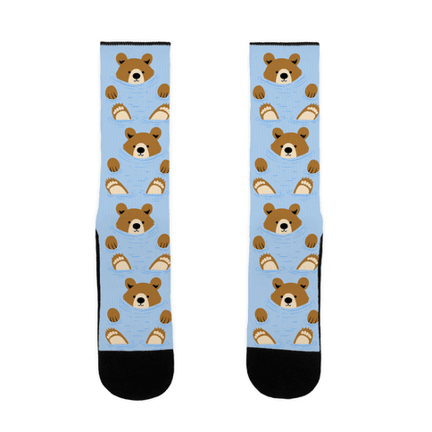 River Bear Sock