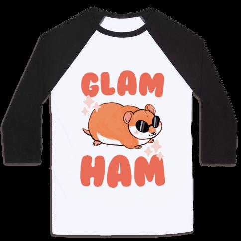 Glam Ham Baseball Tee