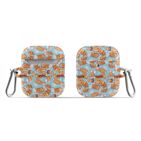 Penis Pastries Pattern AirPod Case