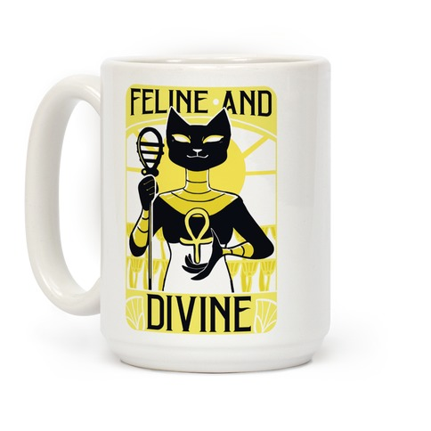 Feline and Divine Coffee Mug